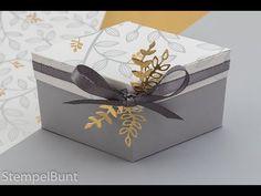 """Elegante Rauten-Schachtel """"Frühlingsglanz"""" mit Stampin'Up!® - YouTube"""