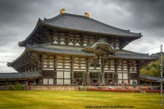 Todai-Ji  in Nara Japanese Buddhism, Nara, Cabin, Mansions, House Styles, Home Decor, Decoration Home, Manor Houses, Room Decor