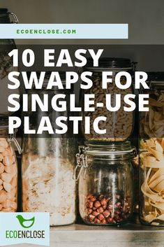 Here are 10 easy swaps to common single-use plastics from utensils to plastic bags. Plastic Free July, Green Business, Plastic Bags, Utensils, Sustainability, Recycling, Easy, How To Make, Life