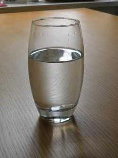 Drink water to avoid hunger.
