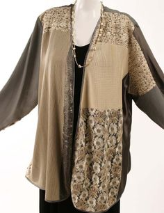 Plus Size Mother of Bride Daisy Jacket Sequins Natural Taupe:  xoPeg  #PeggyLutzPlus #PlusSize #plussizestyle #plussizefashion  #womenstyle #womanstyle #womanfashion #holidaystyle #springstyle #springfashion #plusbridal #motherofbride #motherofgroom #wedding  #fabricdesign #fabriclovers #formalcoat #style #divastyle #couture  #fabric #fashion #bridal #formal