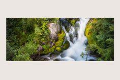 """RAINIER RUNOFF"" Mt. Rainier National Park, Washington State | Rivers and Waterfalls | Steve Hansen Fine Art Landscape Photography"