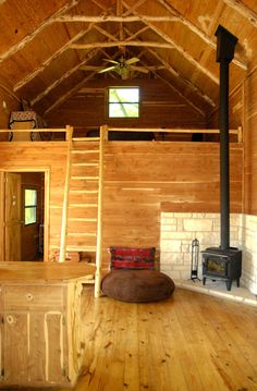 Small Cabins With Lofts Loft Framing Loft After