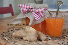 #Marmellata di #albicocche e #zenzero