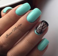 Nice turquoise colour!