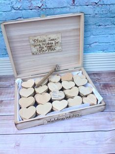 guest book alternatives | ALTERNATIVE GUEST BOOK - great use for my stack of cigar boxes.