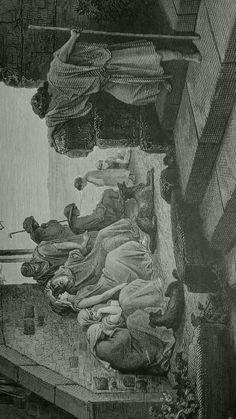 Phillip Medhurst presents detail 205/241 Gustave Doré Bible The Return of the Prodigal Son Luke 15:17