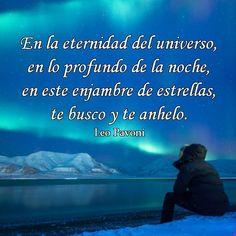 En la eternidad del universo, en lo profundo de la noche...