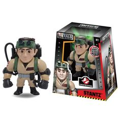 Ghostbusters Ray Stantz 4-Inch Metals Die-Cast Figure - Jada Toys - Ghostbusters - Action Figures at Entertainment Earth
