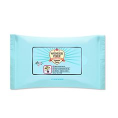 Etude House Wonder Pore Freshner Tissue 10sheets Features Mint and vinegar ingredients care the pores and skin from troubles and fine dust. Acidulous pH cares the skin, adjusting pH balance of the skin. The embossed fabric cares the skin conveniently with the thick and smooth texture. Detail How To Use Smoothly wipe the skin or put it on heated areas to cool. Product Info