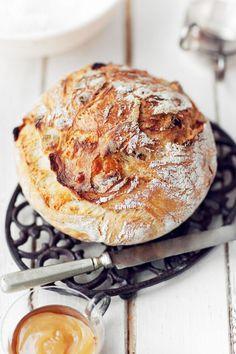 From Scratch Sandwich Bread - 7 Gluten Free Bread Recipes That Taste Amazing . Country Bread, Rustic Bread, Bread Recipes, Cooking Recipes, Gluten Free Ciabatta Bread Recipe, Gluten Free Artisan Bread, Cooking Tips, Pan Relleno, Gula