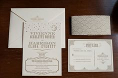 Gatsby invitaciones