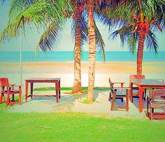 Sea Sand Sun Pranburi Beach Thailand