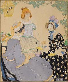 Gertrude Kay (1884-1939) Illustration