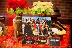 "Beatles ""Enlightenment"" period Beatles, Event Design, Period, Table Decorations, Home Decor, Interior Design, Home Interior Design, Dinner Table Decorations, Home Decoration"