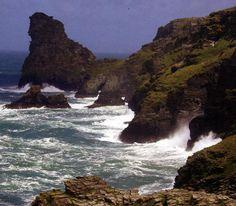 Cornish Coastline - Cornwall UK