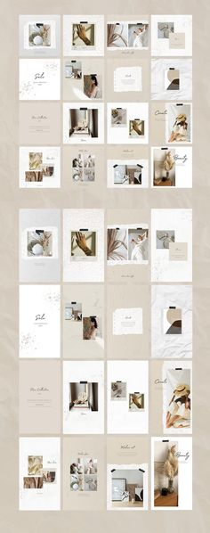 Camellia Social Media Pack - are templates for promoting your business. These templates are perfect Layout Do Instagram, Canva Instagram, Instagram Grid, Instagram Background, Instagram Post Template, Instagram Design, Instagram Posts, Instagram Mosaic, Insta Layout