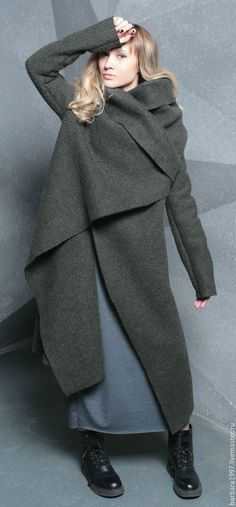 Купить Пальто СOZY WET ASPHALT - пальто, пальто женское, пальто из шерсти, пальто демисезонное