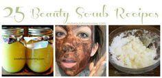 25 Homemade Body Scrub Recipes