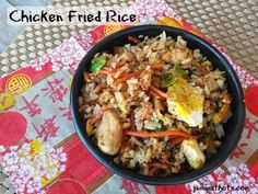 Chicken fried rice r
