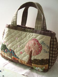 Casual bag by STORY QUILT, via Flickr