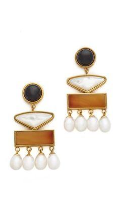 Lizzie Fortunato Coconut Grove Earrings