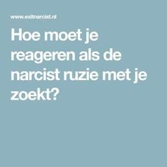 Hoe moet je reageren als de narcist ruzie met je zoekt? Health Psychology, Narcissistic Abuse, Real Love, Infj, Personal Development, Don't Forget, Life Quotes, Spirituality, Mindfulness