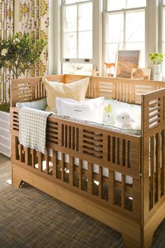 Just love the design of this crib