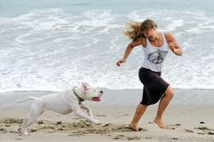A Day at the Beach with Mochi | Ronda Rousey Official Website