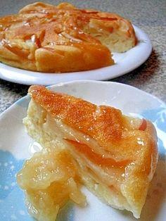 「ホットケーキの素de簡単&豪華♪リンゴのケーキ風」林檎ジャムと皮酢のレシピはコチラ↓http://recipe.rakuten.co.jp/recipe/1630000414/【楽天レシピ】