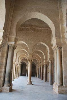 Kairouan - Great Mosque Arcades I
