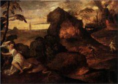Orpheus and Eurydice - Titian