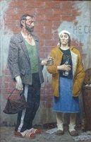 Adam Petrovich and Eve Alekseevna by Geli Korzhev