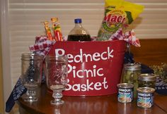Relay For Life Favors | Basket Raffle or Auction – Great idea!