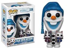 Buy Disney Frozen Olaf with Kittens Funko Pop! Vinyl from Pop In A Box UK, the home of Funko Pop Vinyl subscriptions and more. Disney Frozen Olaf, Disney Pop, Frozen Frozen, Frozen Movie, Disney Ideas, Otaku, Funko Pop Dolls, Pop Figurine, Plushies