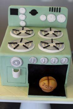 bun in the oven cake!