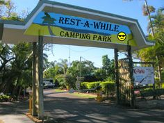 Next stop: Rest-A-While Camping Park