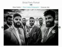 14th place ISPWP  BRIDAL PARTY PORTRAIT  Fall 2015 contest Wedding photography by Ettore Colletto fotografo per matrimoni in Sicilia