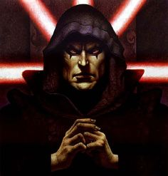 Darth Bane In Hooded Robe - Star Wars Sith Characters Wallpaper Image