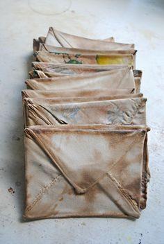 Mister Finch : Fabric envelopes….