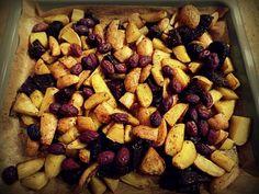 Das perfekte Beilage: Kartoffeln und Rote Bete vom Blech mit Ziegenfrischkäse-Dip-Rezept mit einfacher Schritt-für-Schritt-Anleitung: Die Kartoffeln…