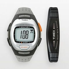 Timex Personal Trainer Resin Heart Rate Monitor Digital Watch