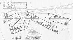 Musée juif de Berlin - Daniel Libeskind - Plan du rez-de-chaussée