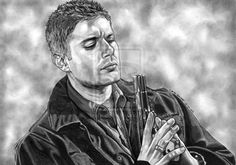 Dean Winchester. by lupinemagic.deviantart.com on @deviantART