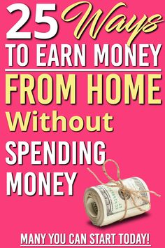 Are you looking to earn money online without investment? Searching for ways to make money with out putting any money into it? Have you heard about making money online, but don't know where to start? These ideas are how we got started to earn money online Ways To Earn Money, Earn Money From Home, Earn Money Online, Make Money Blogging, Online Jobs, Money Tips, Way To Make Money, Make Easy Money Online, Managing Money