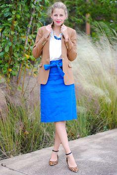 Austin Fashion Blogger // @Jcrew Office Fashion