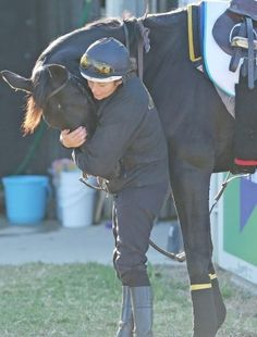 Horse Transport: the human side of globetrotting Thoroughbreds - Melbourne Cup contender Side Glance with his groom Leanne Masterton