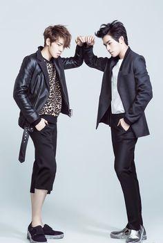 Infinite H - Dongwoo and Hoya