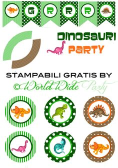 Party Friday: Festa Dinosauri