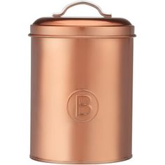 Stevens Metallico Copper Biscuit Canister